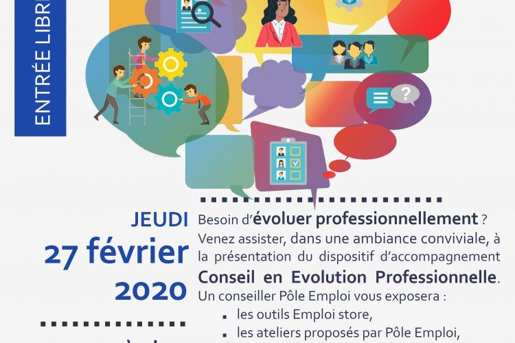 Affiche Conseil Evolution Professionnelle