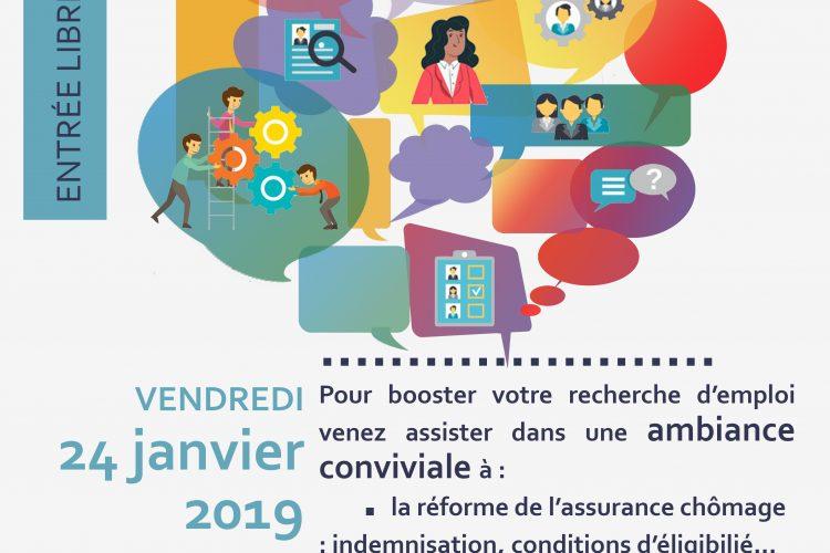 Atelier outils numériques réforme assurance chômage